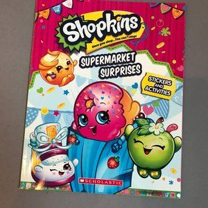 SHOPKINS Supermarket Surprises Sticker Book